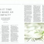 Impact Investing - Gavroche Luxury